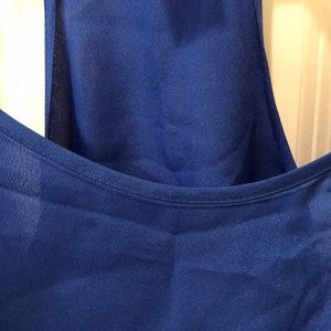 J. Crew Tops - J. Crew royal blue cami
